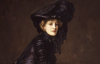 Miss Eleganza (John Lavery, Polymnia, 1909)