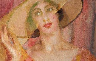 Miss Simpatia (Giacomo Balla, Veli rosa. Ritratto di luce, 1921)