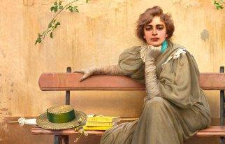 Miss Galleria Nazionale (Vittorio Corcos, Sogni, 1896)