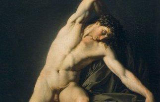 Mister Galleria Nazionale (ignoto pittore francese, Nudo accademico, 1800-1810)