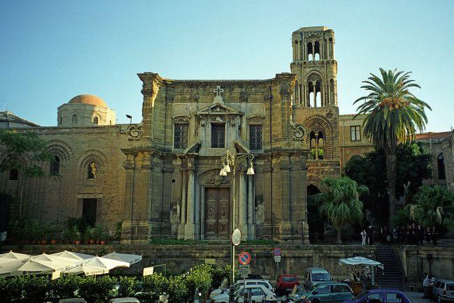 chiesa di Santa Maria dell'Ammiraglio (detta chiesa della Martorana)