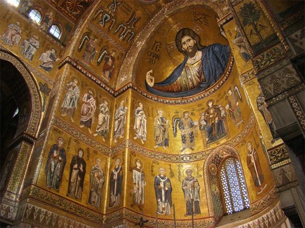 i mosaici della Cattedrale di Monreale