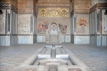 la Sala della Fontana nella Zisa