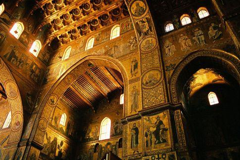 mosaici della Cattedrale di Monreale